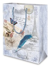 The World Is A Book Gift Bag, Medium