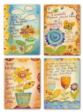 Flower, Happy Birthday Cards