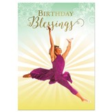 Birthday Blessings Cards, Box of 6