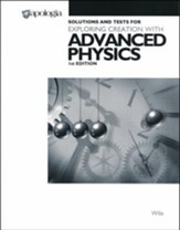 Advanced Physics in Creation, Solutions & Test Book