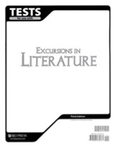 BJU Press Excursions in Literature Tests Grade 8, Third Edition