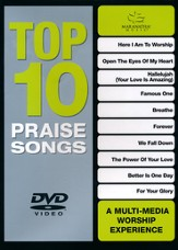 Top 10 Praise Songs DVD (GREEN)