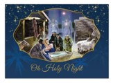Holy Night, Nativity, Christmas Cards, Box of 15
