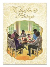Christmas Blessing Family, Christmas Cards, Box of 15