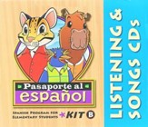 BJU Pasaporte al Español B Audio CD Set