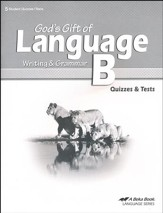Abeka God's Gift of Language B Quizzes & Tests