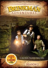 The Brinkman Adventures Season 2 (12 Episodes on 4 Audio CD'  s)