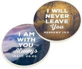 Nature Verse Car Coasters, Set of 2
