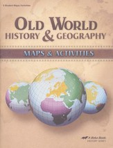 Abeka Old World History & Geography Maps & Activities