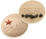 Beach Car Coasters, Set of 2