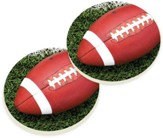 Football Car Coasters, Set of 2