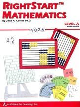 Rightstart Mathematics Level A  Worksheets, 1st Edition