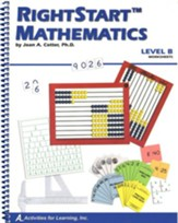 Rightstart Mathematics Level B  Worksheets, 1st Edition