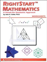Rightstart Mathematics: A Hands-On  Geometric Approach Worksheets