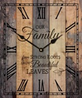 Our Family, Pallet Clock