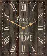 Love Makes A Home, Pallet Clock