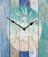 Relax You're On Beach Time, Pallet Clock