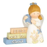 Draw Near to God Angel Figurine, Girl