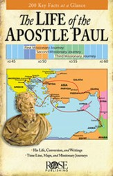 The Life of the Apostle Paul, Pamphlet - eBook