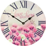 Love Lives Here Clock