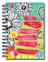 He Has Made Everything Beautiful In Its Time, Floral Journal