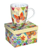 Fill Your Life With Love, Butterfly Mug