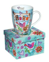 Grow Peace In Your Heart, Bird Mug