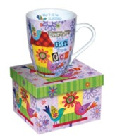 Everyday Is A Gift From God, Birdhouse Mug