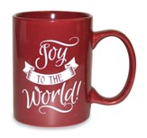 Joy To the World Mug, Red