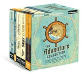 Adventure Collection: Treasure Island Jungle Book, Gulliver's Travels, White Fang Merry Adventures of Robin Hood - unabridged audiobook on CD