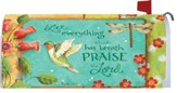 Praise the Lord Mailbox Cover