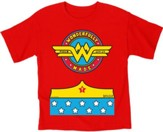 Wonderfully Made Shirt, Red, 4T