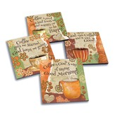 Coffee Is God's Way Of Saying Good Morning! Coasters, Set of 4