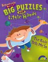 Big Puzzles for Little Hands: The Bible Tells Me So, Ages 3-8