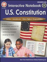 Interactive Notebook: U.S. Constitution, Grades 5 - 12