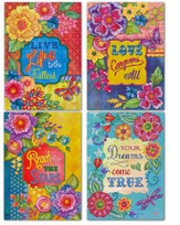 Sympathy, Bouquets and Swirls Cards, KJV, Box of 12