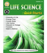 Life Science Quick Starts, Grades 4  - 9