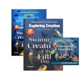 Exploring Creation with Zoology 2: Swimming Creatures of the  Fifth Day Super Set (with Junior Notebooking Journal)