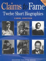 Claims to Fame, Book 1