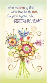 God Made Us Sisters by Heart, 2017/2018 Two-Year Pocket Planner