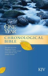 The One Year Chronological Bible KJV - eBook