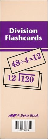 Division Flash Cards--Grades 2 to 6