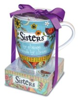 Sisters By Chance Mug and Notepad