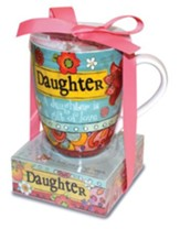 Daughter, A Daughter Is A Gift Of Love Mug and Notepad