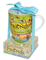Friends Are the Sunshine Of Life Mug and Notepad
