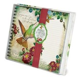 Cast Your Cares, Hummingbird, Journal and List pad Set