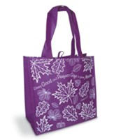 Every Good and Perfect Gift Eco Tote Bag, Purple