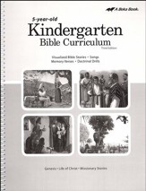Abeka K5 Bible Curriculum (Lesson Plans)