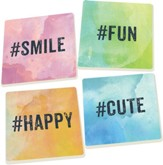 Hashtag Coaster, Set of 4