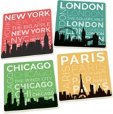 Cities Coasters, Set of 4